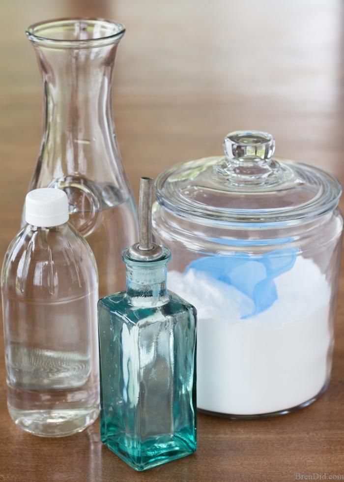 8. Natural Homemade Drain Cleaner via Simphome