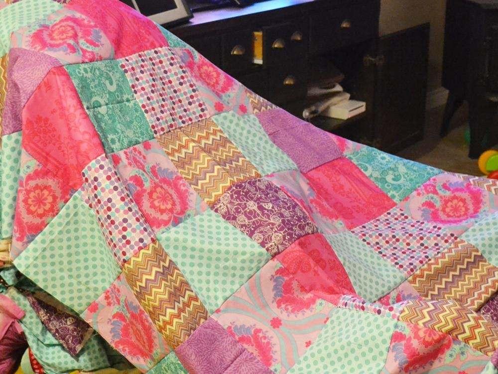 9. Patchwork Duvet Cover by simphome.com