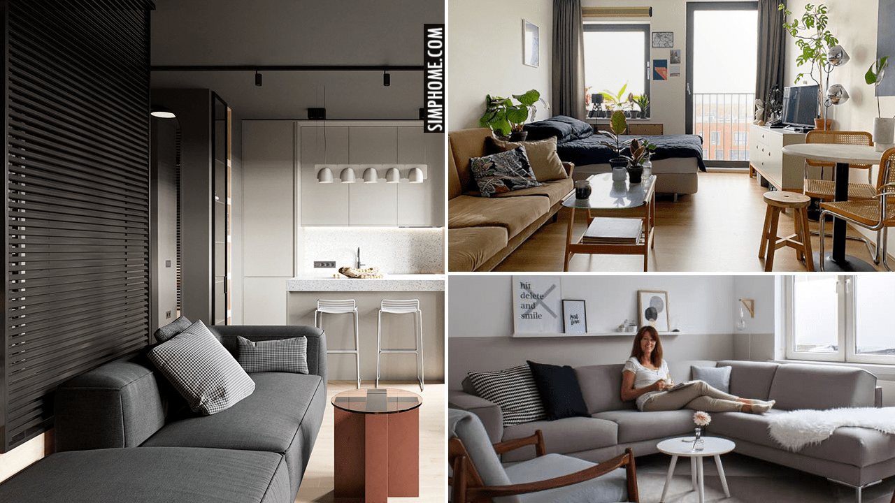Minimalist Living Space Ideas via Simphome.com .yt