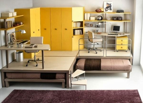 1. Bedroom Office Combo by simphome.com