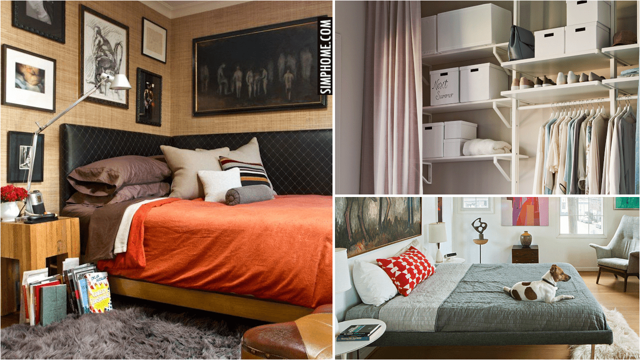 10 Furniture Layout for a Small Bedroom via Simphome.comyt Thumbnail