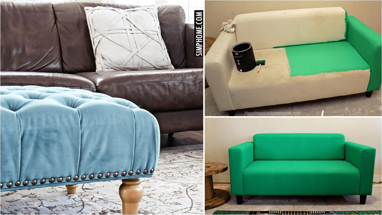 10 Old Couch Makeover DIY via Simphome.comyt Thumbnail