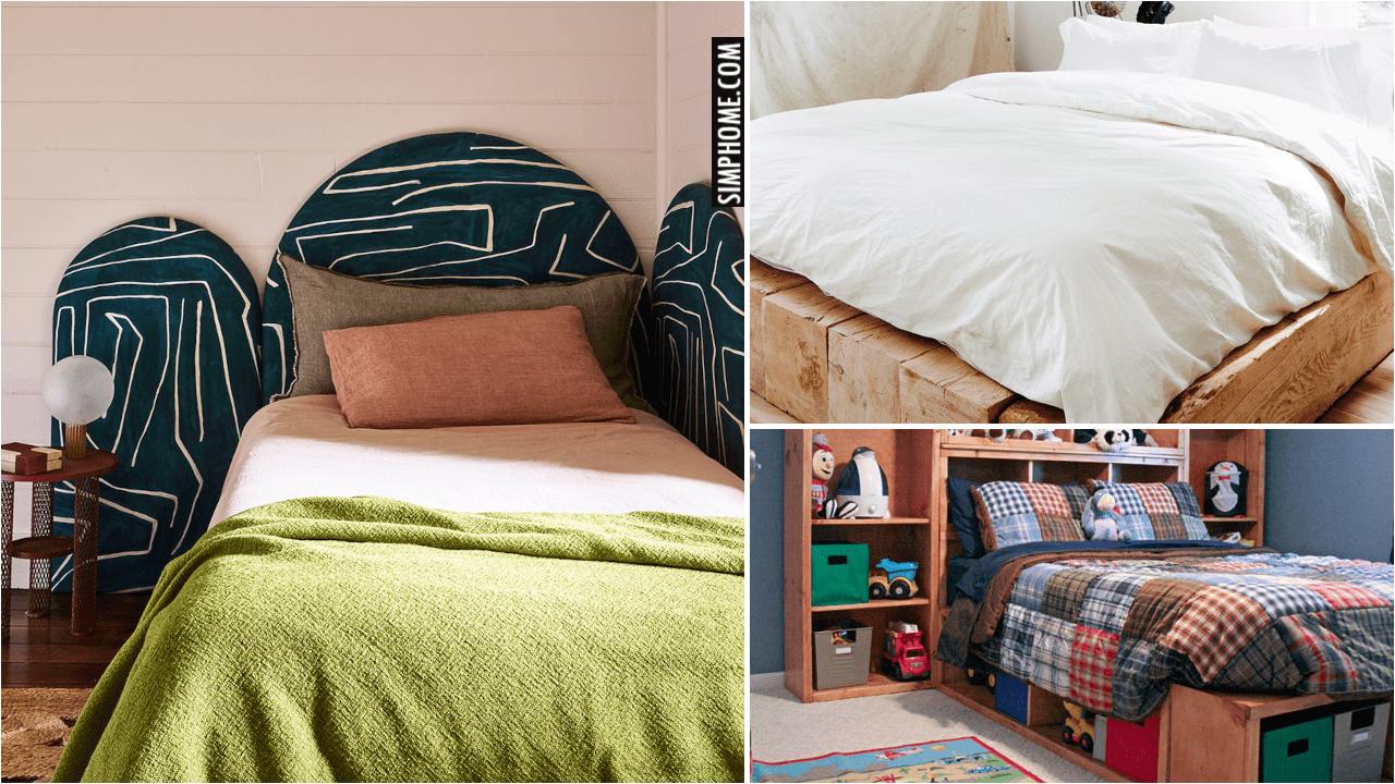 10 Tiny Bedrooms Bed via Simphome.comYoutube thumbnail