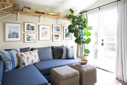 10. Corner Sectional Sofa by simphome.com