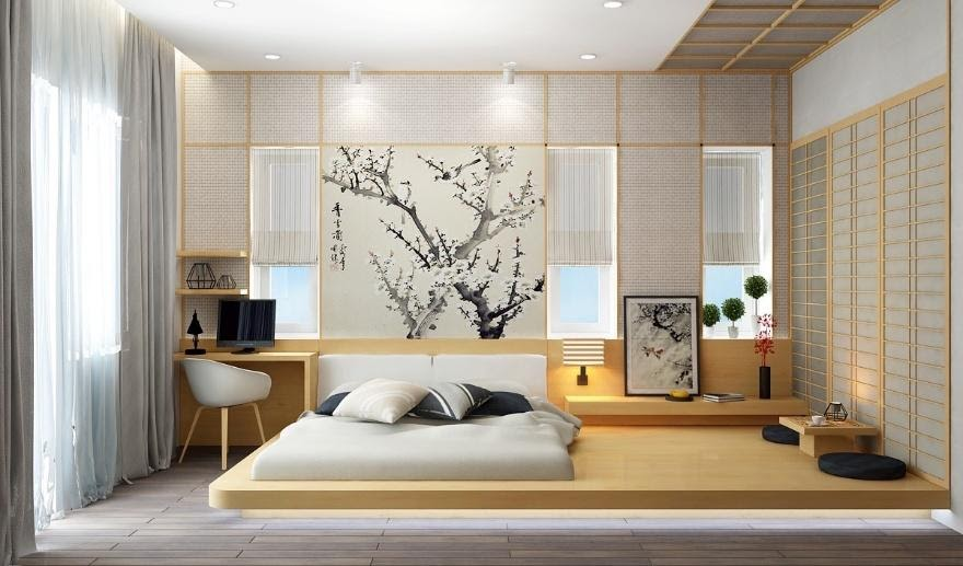 10. Traditional Asian Bedroom by simphome.com
