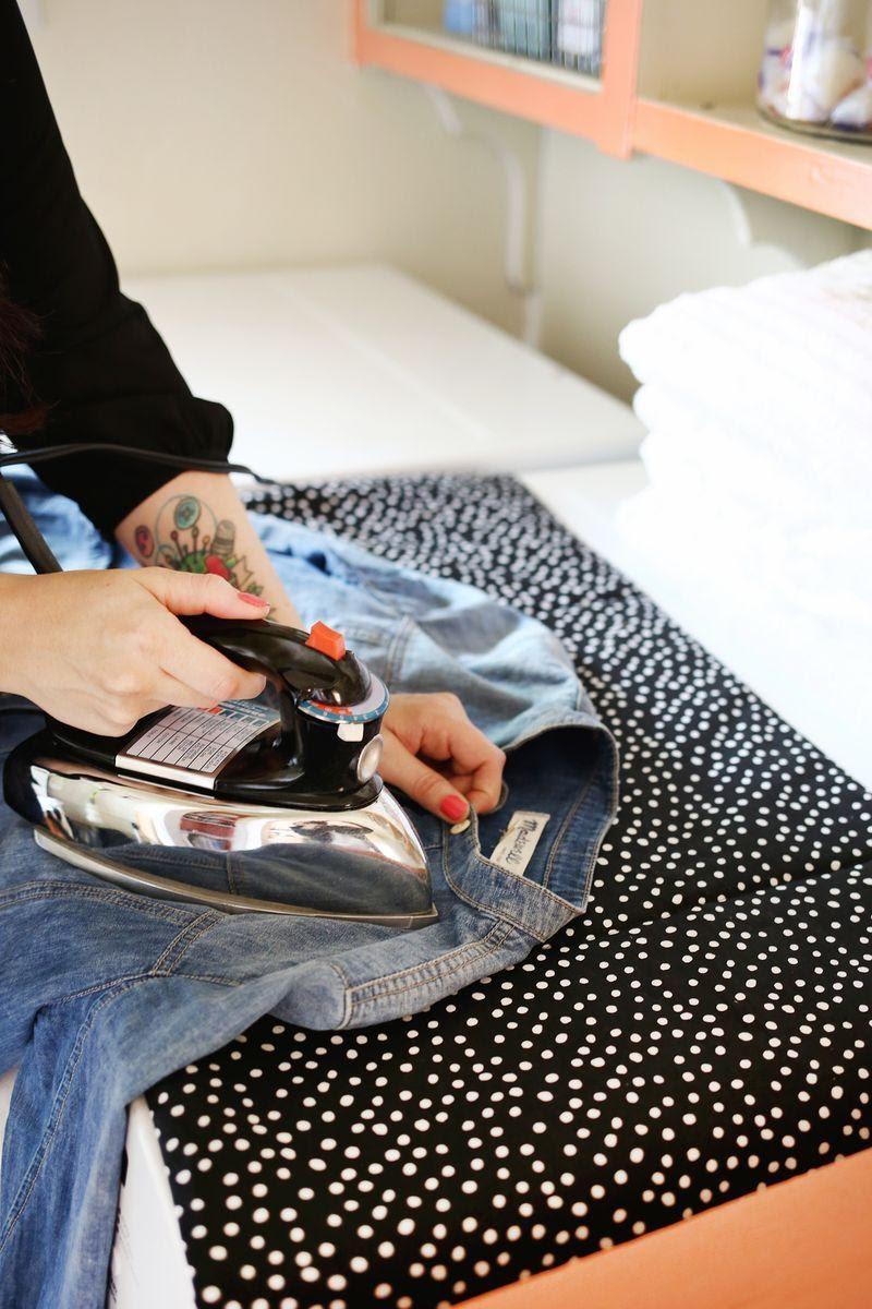 2. The DIY Ironing Mat Idea by simphome.com