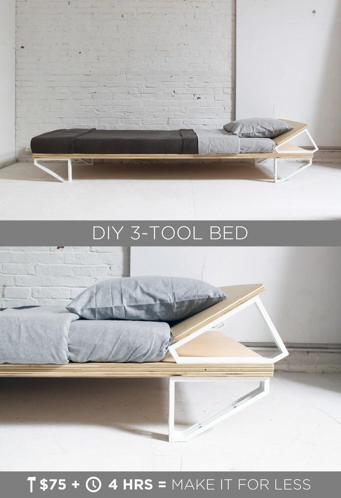 2.DIY 3 Tool bed by simphome.com