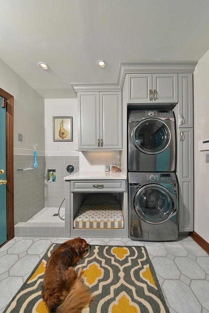 4. A Multipurpose laundry room idea by simphome.com