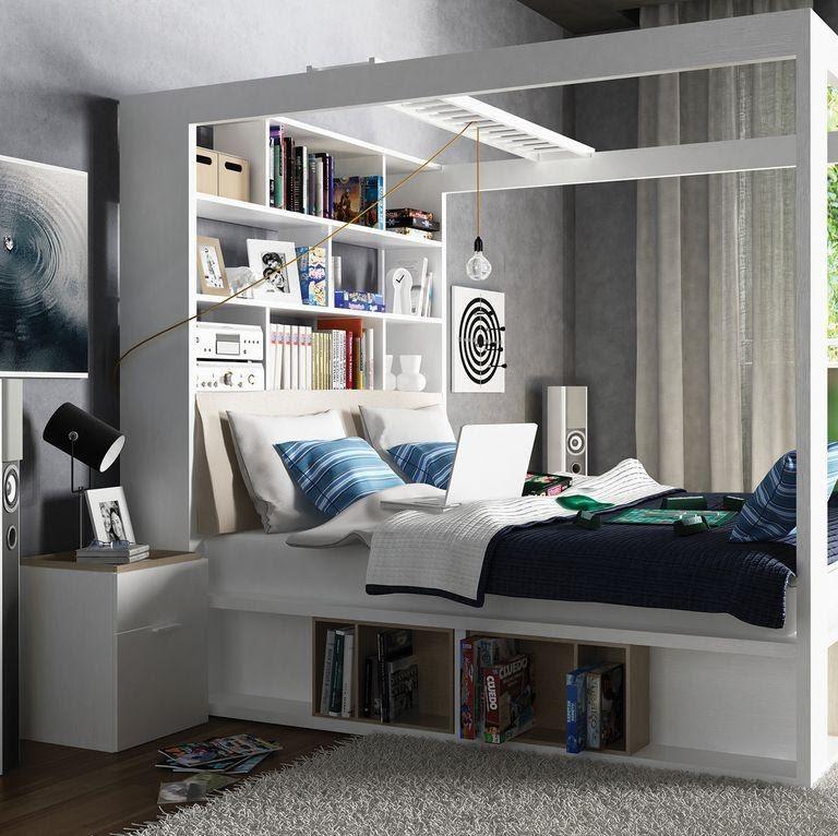 4. Multi purpose Small Bed by simphome.com