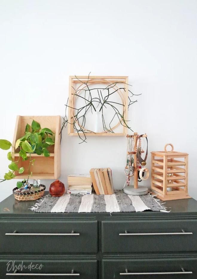 8. Modern Geometric Shelf by simphome.com