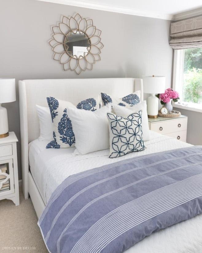 9. Add Extra Pillows by simphome.com