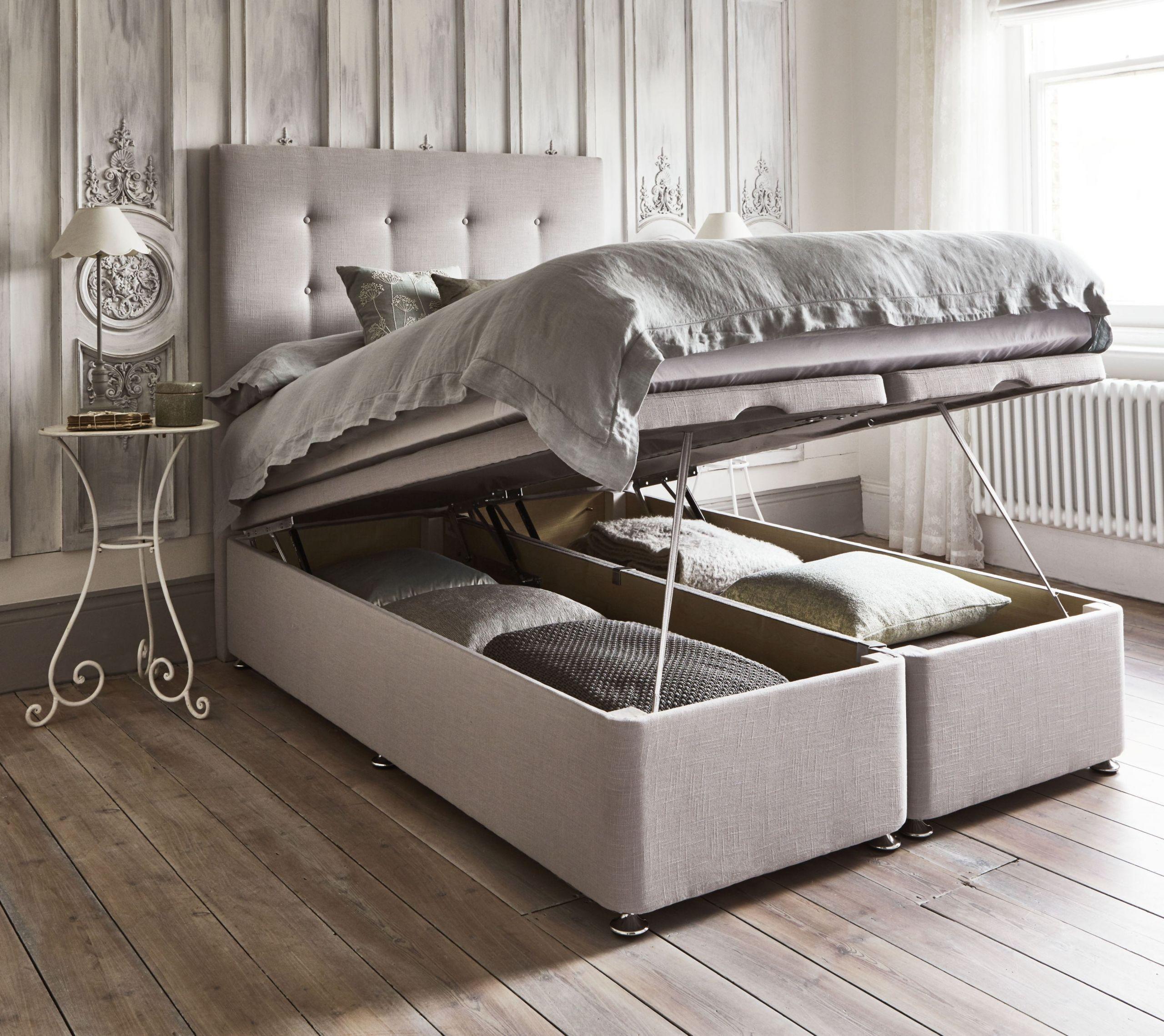 Underbed space Bedroom Idea via Simphome.com
