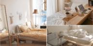 10 comfortable Korean-style bedroom ideas via Simphome.com