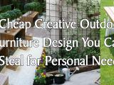 Cheap Creative Outdoor Furniture Design Simphome.com