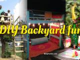 DIY Backyard fun ideas simphome com