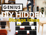 DIY Hidden storage ideas Simphome com