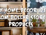 DIY Home Decor Ideas From Dollar Store simphome.com