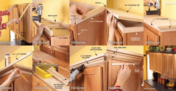 Decorate kitchen cabinets Simphome com