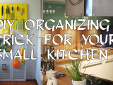 Diy Organizing small kitchen simphome.com