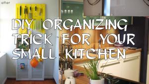 Diy Organizing small kitchen simphome.com