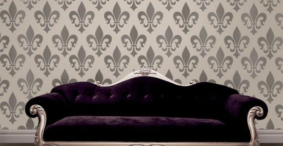 Fleur De Lis Home Décor Wallpaper simphome com