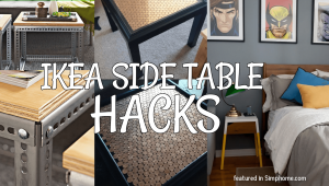 IKEA side table hacks.simphome.com