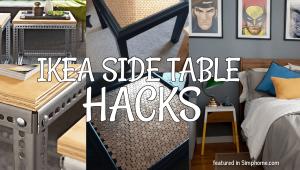 IKEA side table hacks.simphome.com