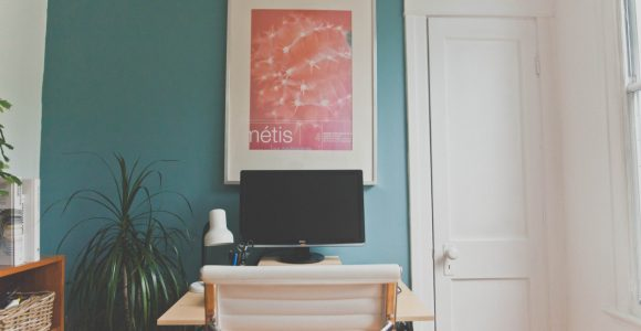 Picture hanging idea without frame Simphome com