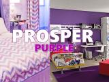 Purple home decor via simphome com