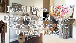 Rustic Home Decor Ideas simphome.com