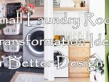 Small Laundry Room Transformation simphome.com
