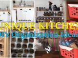 kitchen DIY Organization ideas
