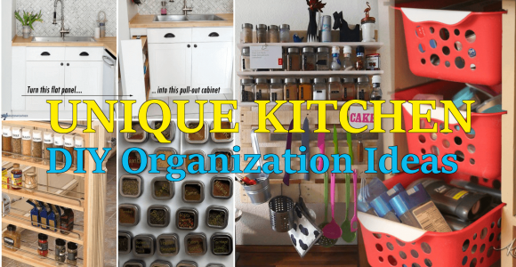 kitchen DIY Organization ideas