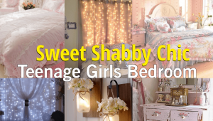 sweet shabby chic bedroom teenage Simphome com